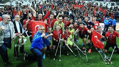 Son dakika spor haberi: Ampute Futbol Milli Takımı Polonya'da yeniden tarih yazmak istiyor