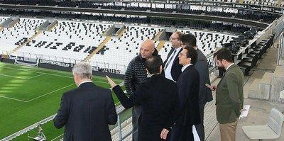 UEFA'dan Vodafone Park'a Kupa ziyareti