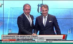 Guimaraes'ten Beşiktaş itirafı