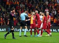İşte Galatasaray'ın isyan ettiği pozisyon! Taraftar çıldırdı