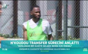"""N'koudou: Beşiktaş'ı taraftarı için seçtim"""""""