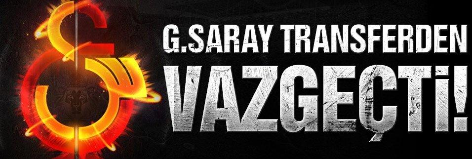 G.Saray genç yıldızın transferinden vazgeçti!