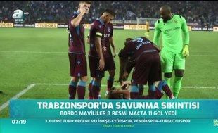 Trabzonspor'da savunma sıkıntısı