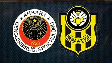 Gençlerbirliği - Yeni Malatyaspor | CANLI