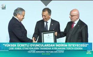 """Ahmet Nur Çebi resti çekti """"İndirim yapmazlarsa gitsinler"""""""