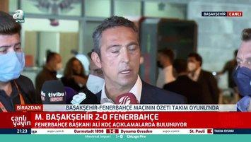 Ali Koç: Bizi yıpratmaya yönelik hareketler...