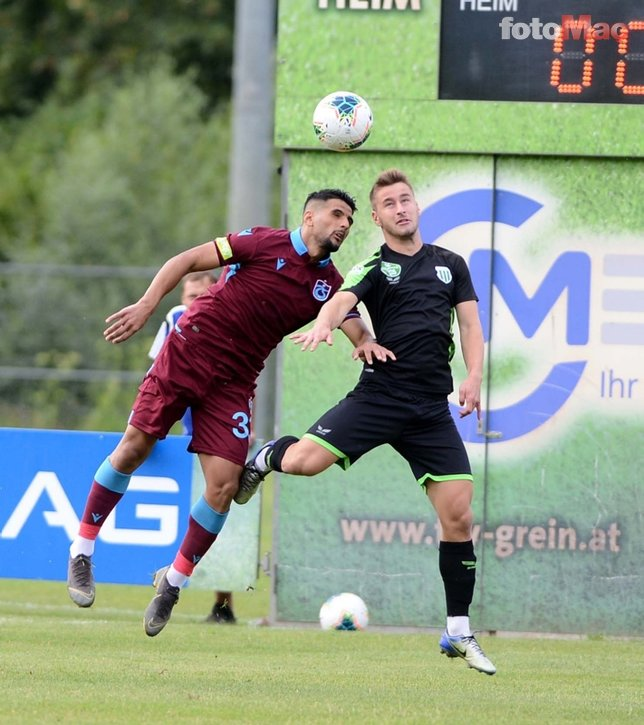 Trabzonspor - Haladas maçından kareler...