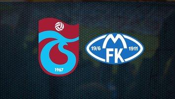 Trabzonspor Molde maçı saat kaçta hangi kanalda CANLI yayınlanacak?