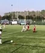 Ronaldo'nun oğlundan harika goller!