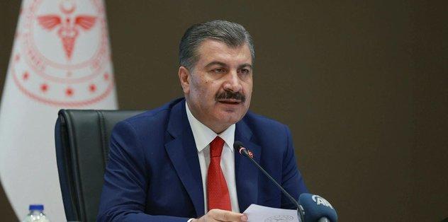 Sağlık Bakanı Fahrettin Koca güncel rakamları duyurdu!