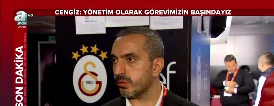 """Nevzat Dindar: """"Galatasaray kayyum tehlikesiyle karşı karşıya"""""""