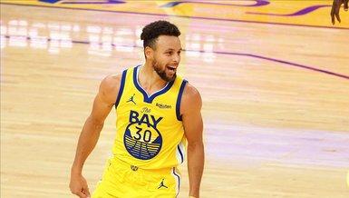 NBA'de Stephen Curry kariyer rekoru kırdı!