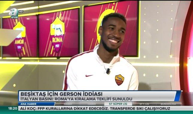 Beşiktaş için Gerson iddiası