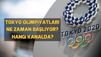 Tokyo Olimpiyatları ne zaman başlıyor?