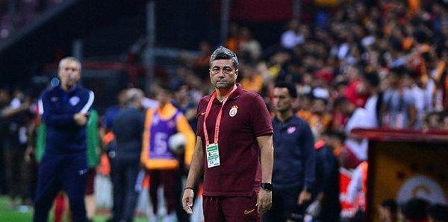 Galatasaray'da Şahin görev yaptı