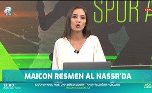 Maicon resmen Al Nassr'da