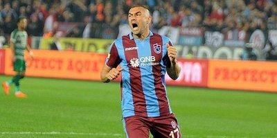 Trabzonspor'da Burak Yılmaz kadroya alınmadı!
