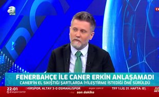 Volkan Demir: Galatasaray Caner Erkin'e teklif yaptı