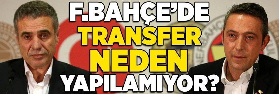 İşte Fenerbahçe'nin transfer yapamamasının nedeni!