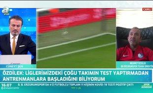 """Mehmet Özdilek TFF'ye isyan etti! """"Lige başlamak şansımız yok! Mümkün değil"""""""