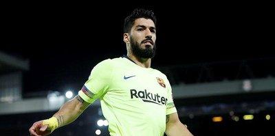 Luis Suarez sakatlandı