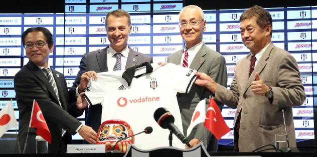 Beşiktaş Japon medya devi Mainichi ile sponsorluk anlaşması imzaladı! Kagawa sürprizi