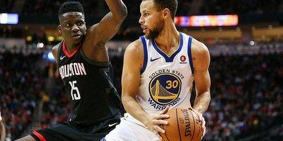 Çekişmeli maçın kazananı Warriors