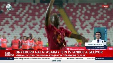 Galatasaray Onyekuru transferinde mutlu sona ulaştı! İstanbul'a geliyor