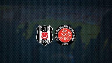 Hedef 3 puan! Beşiktaş - Fatih Karagümrük maçı ne zaman? Saat kaçta? Hangi kanalda canlı yayınlanacak?   Süper Lig (Bjk maçı)