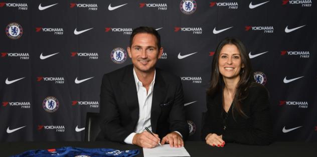 Chelsea'nin başına Frank Lampard geçti
