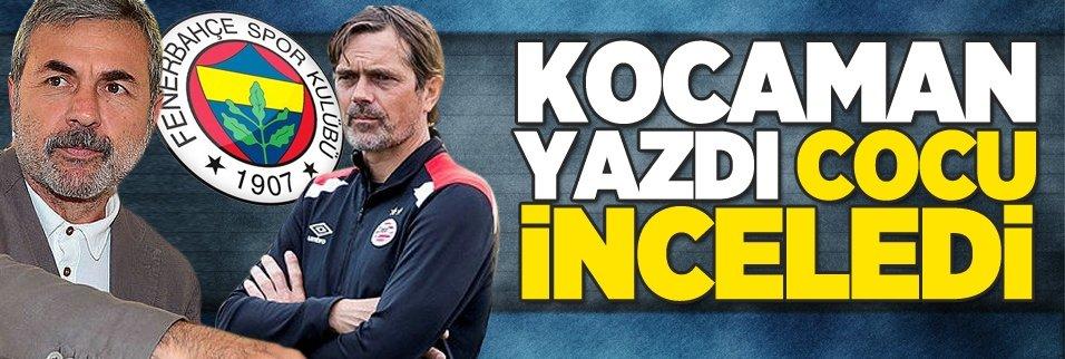 Aykut Kocaman yazdı Cocu inceliyor!