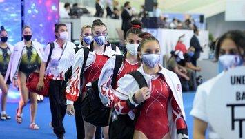 Genç cimnastikçiler Avrupa Şampiyonası'nda tecrübe edindikleri turnuvayı değerlendirdi