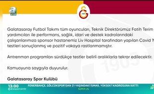 Galatasaray'dan corona virüsü açıklaması