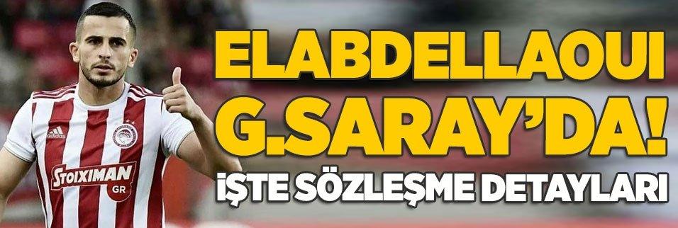 omar elabdellaoui galatasarayda iste sozlesme detaylari 1594811665511 - Galatasaray transferi için maça çıkmadı! Nigel Robertha geliyor mu?