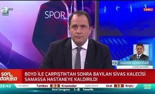 Sivasspor - Beşiktaş maçında korkutan sakatlık!