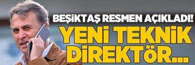 Beşiktaş resmen açıkladı! Yeni teknik direktör...
