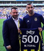 Mehmet Topal'a plaket verildi
