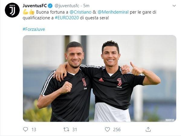 Juventus'tan Merih Demiral mesajı!
