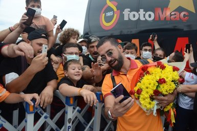 Son dakika spor haberi: Galatasaray'a Giresun'da coşkulu karşılama