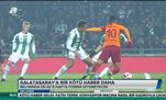 Galatasaray'a bir kötü haber daha