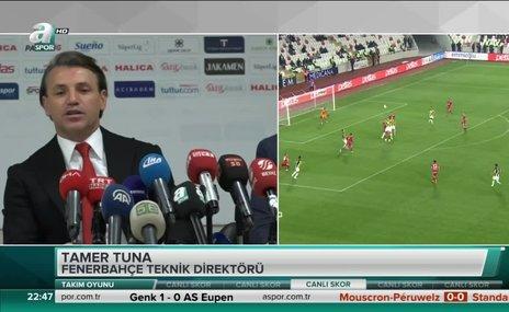 """Demir Grup Sivasspor Teknik Direktörü Tamer Tuna: """"Fenerbahçe beklediğimiz gibiydi"""""""