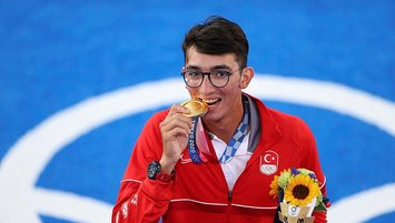Turkey wins 1st-ever Olympic medal in archery, Gazoz claims gold