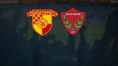 Göztepe Hatayspor maçı CANLI