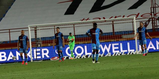 Taraftarsız yalnız kaldı - Trabzonsporda -