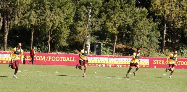 Galatasaray hazırlıklarını sürdürdü - Futbol -