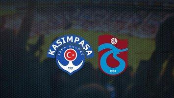 Kasımpaşa - Trabzonspor maçı ne saat kaçta ve hangi kanalda?