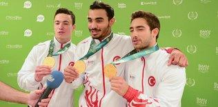 Ferhat Arıcan'dan altın madalya