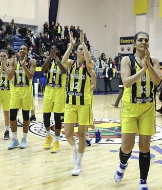 Fenerbahçe Öznur Kablo 76-63 ÇBK Mersin Yenişehir Belediyespor | MAÇ SONUCU