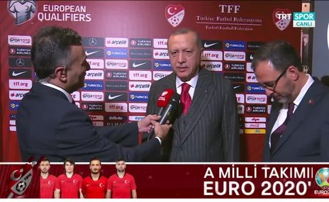 Başkan Erdoğan: Çok genç ve dinamik bir takımımız var