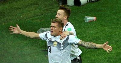 Toni Kroos ipten aldı! Almanya 2-1 İsveç maç sonucu